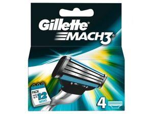 Gillette Mach3 cuchillas - 4 recambios