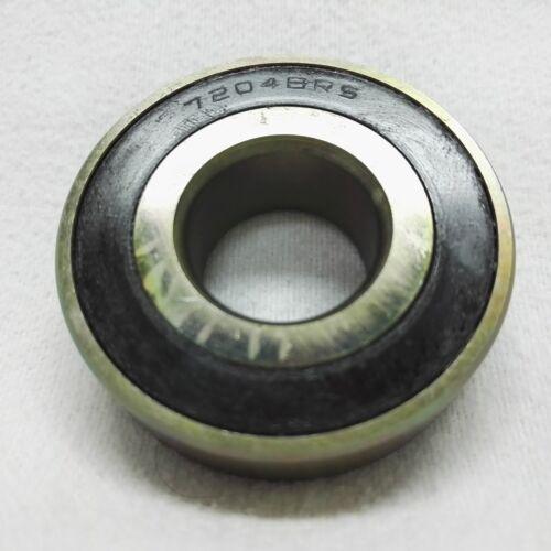 Schrägschulterkugellager ball-bearing 7204-B-RS 47x20x14 mm made in Germany