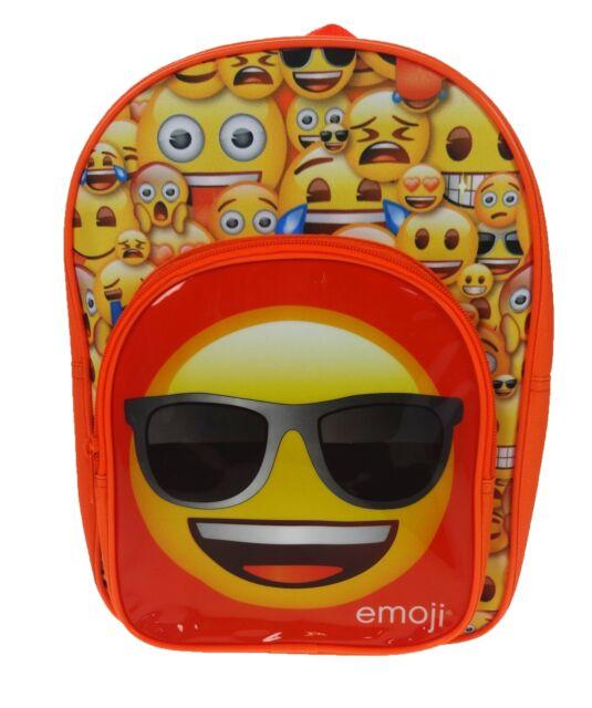 f189db40785 Emoji Emoticons  Arch Pocket  School Bag Rucksack Backpack Brand ...