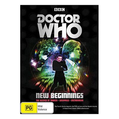 Doctor Who: New Beginnings DVD Boxset - Keeper of Traken, Logopolis, Castrovalva