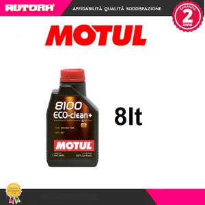 101580-8lt-Olio-Motul-8100-Eco-Clean-5W30-100-Sintetico-MARCA-MOTUL