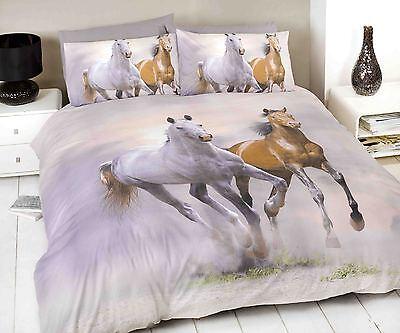 Duvet Cover Sets 3D Animal Print Bedding Pillow Cases King Size Double Single