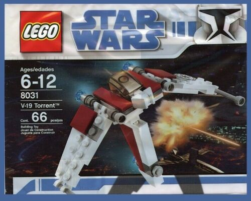 lego star wars clone 8031 V-19 Torrent space ship new mini poly free shipping !!