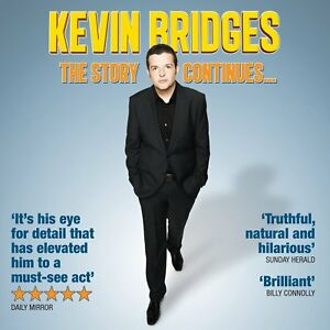 KEVIN-BRIDGES-The-Story-Continues-2012-Audio-CD-NEW-UNPLAYED