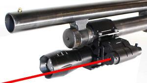 12-Gauge-pumpTactical-Flashlight-Red-dot-sight-Mossberg-500-Remington-870