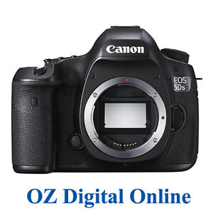 NEW Canon EOS 5DS R 5DSR 50.6MP Camera Body Full Frame Digital SLR 1 Yr Au Wty
