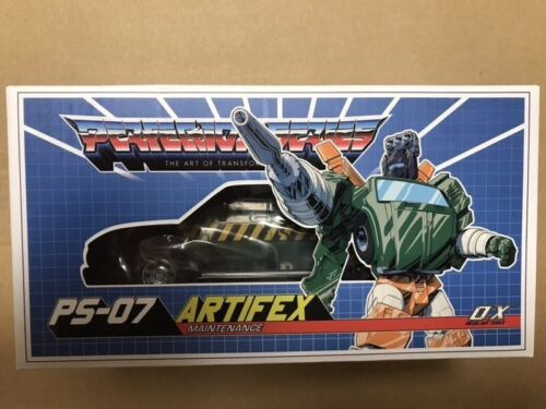 New Transformers Ocular Max PS-07 ARTIFEX OX Hoss MMC pulley Action Figure