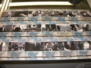 James-Bond-Autographs-amp-Relics-21-Card-Quotable-Skyfall-Set-QS1-QS21-Autos