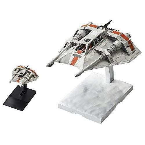 Bandai Star Wars Hobby Snowspeeder Set  1/48 & 1/144 Plastic Model kit w/Track