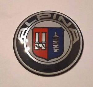 new design laquer emblem bmw alpina badge steering wheel. Black Bedroom Furniture Sets. Home Design Ideas