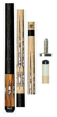 FREE US SHIPPING Players HXTE4 Pure X Series Cue FREE Joint Caps /& Tip Tool