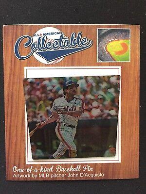 Schnelle Lieferung New York Mets Keith Hernandez Revers Pin-collectable Memories Fanartikel '86 Ws Champion Modische Und Attraktive Pakete