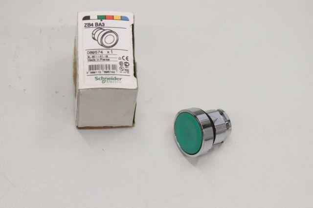 SCHNEIDER ELECTRIC ZB4BA3 Grün Ø22mm Drucktaster 089574 NEU