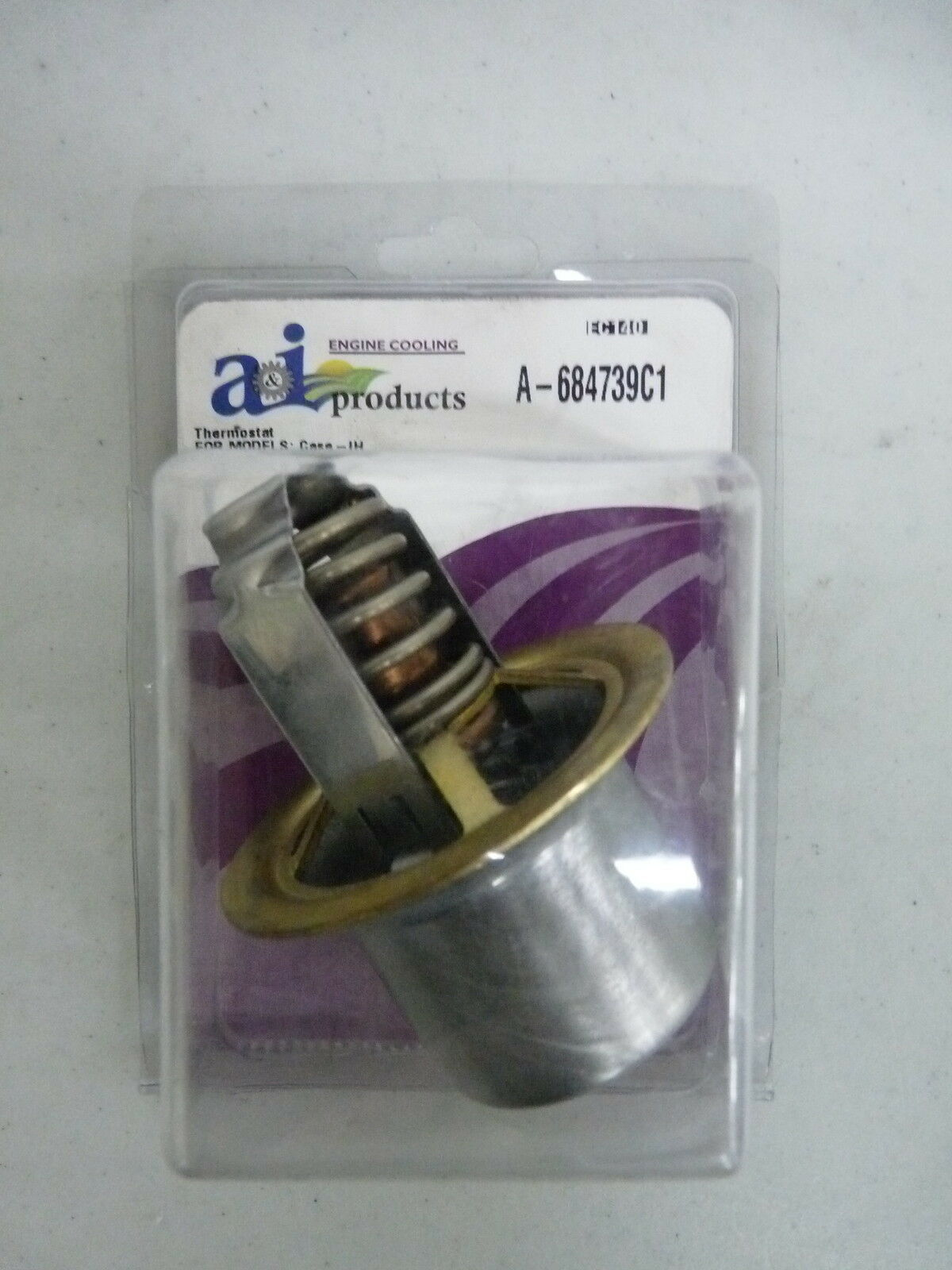 A I 684739c1 Thermostat Made To Fit Case Ih Tractor 190f For Sale Online Ebay