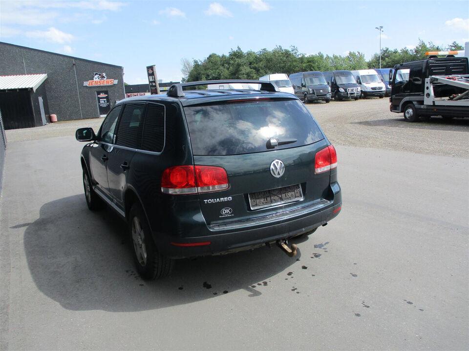 VW Touareg 2,5 TDi Tiptr. Diesel aut. Automatgear modelår