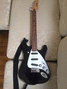 Image Is Loading Used Black First Act Me301 Electric Guitar