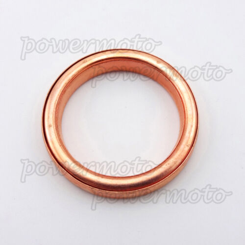 10PCS Exhaust Muffler Pipe Gasket For 50 110 125cc 140cc Pit Dirt Bike ATV Quad