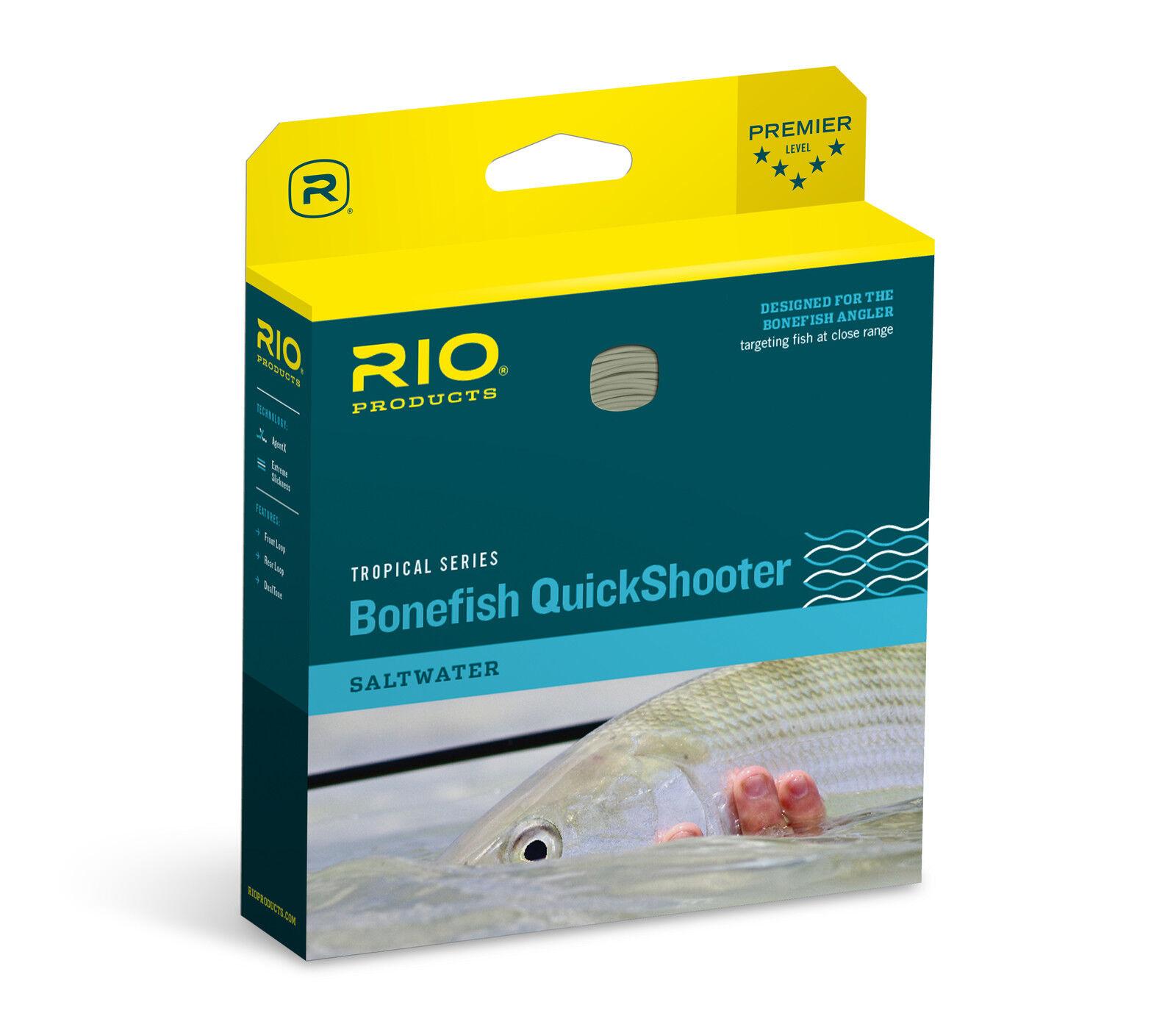 Rio Bonefish Quickshooter Fly Line WF6F  Coloree Aqua bluSe  nuovo
