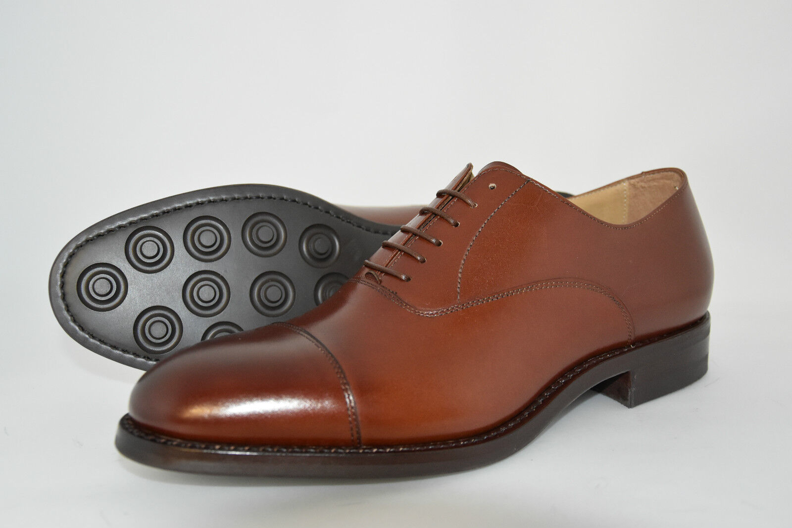 Monsieur Madame MAN-8eu-9usa-OXFORD CAPTOE-COGNAC CALF-VITELLO MARRONE-DAINITE+LEATHER d'année SOLE Le plus commode Solde de fin d'année MARRONE-DAINITE+LEATHER TempéraHommes t britannique dd045e