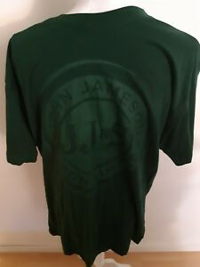 Size XL Jameson Irish Whiskey T-Shirt Forest Green