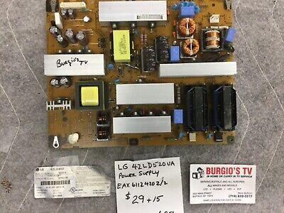LG EAY60990201 EAX61124202//2 Power Supply for 42LD520-UA