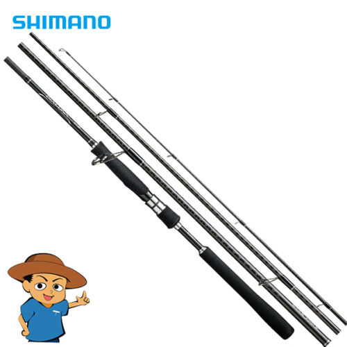 "Shimano DIALUNA MB S706L-4 Light 7/'6/"" fishing spinning rod from Japan"