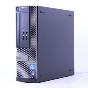 Dell Optiplex 390 Windows 10 Desktop Pc Intel I3 2120 3.3Ghz 4Gb 500GB Hdd Wifi