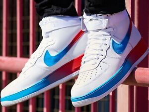 Details about Nike Air Force 1 High LV8 AP EMBER GLOW Sneakers Men's  Lifestyle Comfy Shoes