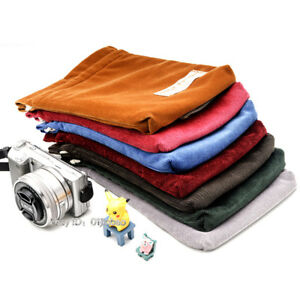 Image Is Loading Drawstring Camera Bag Insert Pocket Pouch Fit Mirrorless
