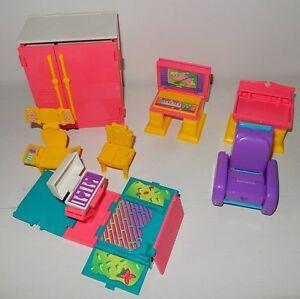 Ambitieux Décor Accessoires Transformables Wish World Kids Poupée Vintage Kenner Toys 1987 100% D'Origine