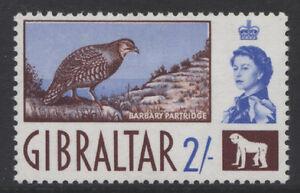 BIRDS-GIBRALTAR-1960-2-PARTRIDGE-MINT-SG-170-REF-B1