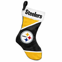 Pittsburgh Steelers Holiday 17 Christmas Stocking Team Logo For 2014