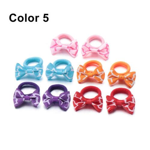 Headdress Bow Hair Ring Rope Hair Accessories Kids Hair Ties Hair Rubber Bands