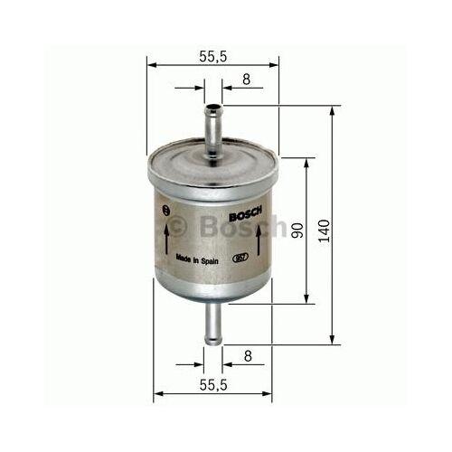 Bosch Filtro de combustible