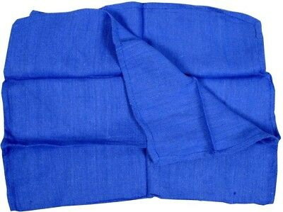 JANITORIAL SHOP TOWELS HUCK SURGICAL TOWEL 20 LBS BLUE JUMBO GLASS CLEANING