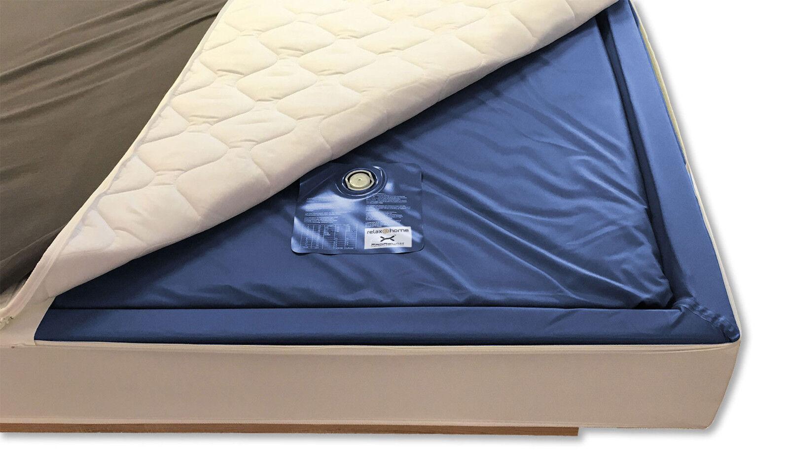 2x Wasserkern Wasserbett Matratze eine Seite Dual Softside Wasserbettmatratze