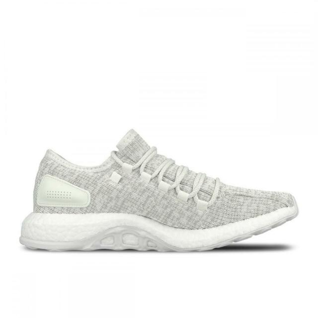 0a64a20322c95 adidas Pureboost White Grey Men Running Shoes SNEAKERS S81991 8 for ...