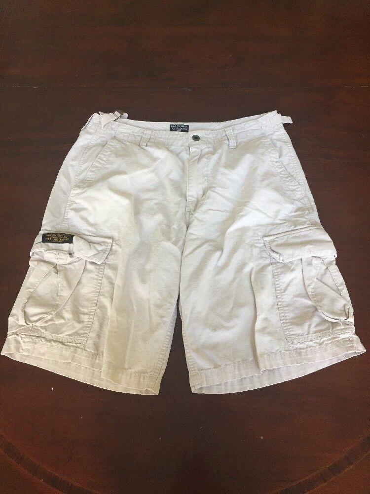 Polo Jeans Company Women's White Shorts (34). TL8