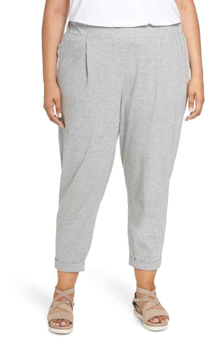 Eileen Fisher Moon Speckled Knit Ankle Jogger Pants Plus Größe 1X, 2X, 3X   198