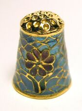Fingerhut Thimble - Cloisonne mit Glas