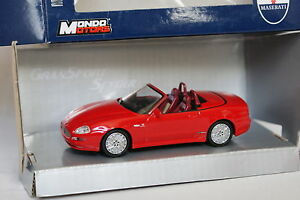 Mondo-Motors-1-43-Maserati-GT-Spider-Rouge