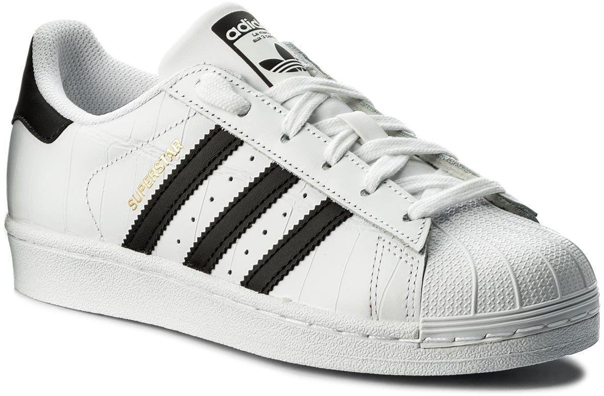 Adidas Superstar Men's WHITE BLACK FOUNDATION Trainers shoes uk10 eu44 2 3