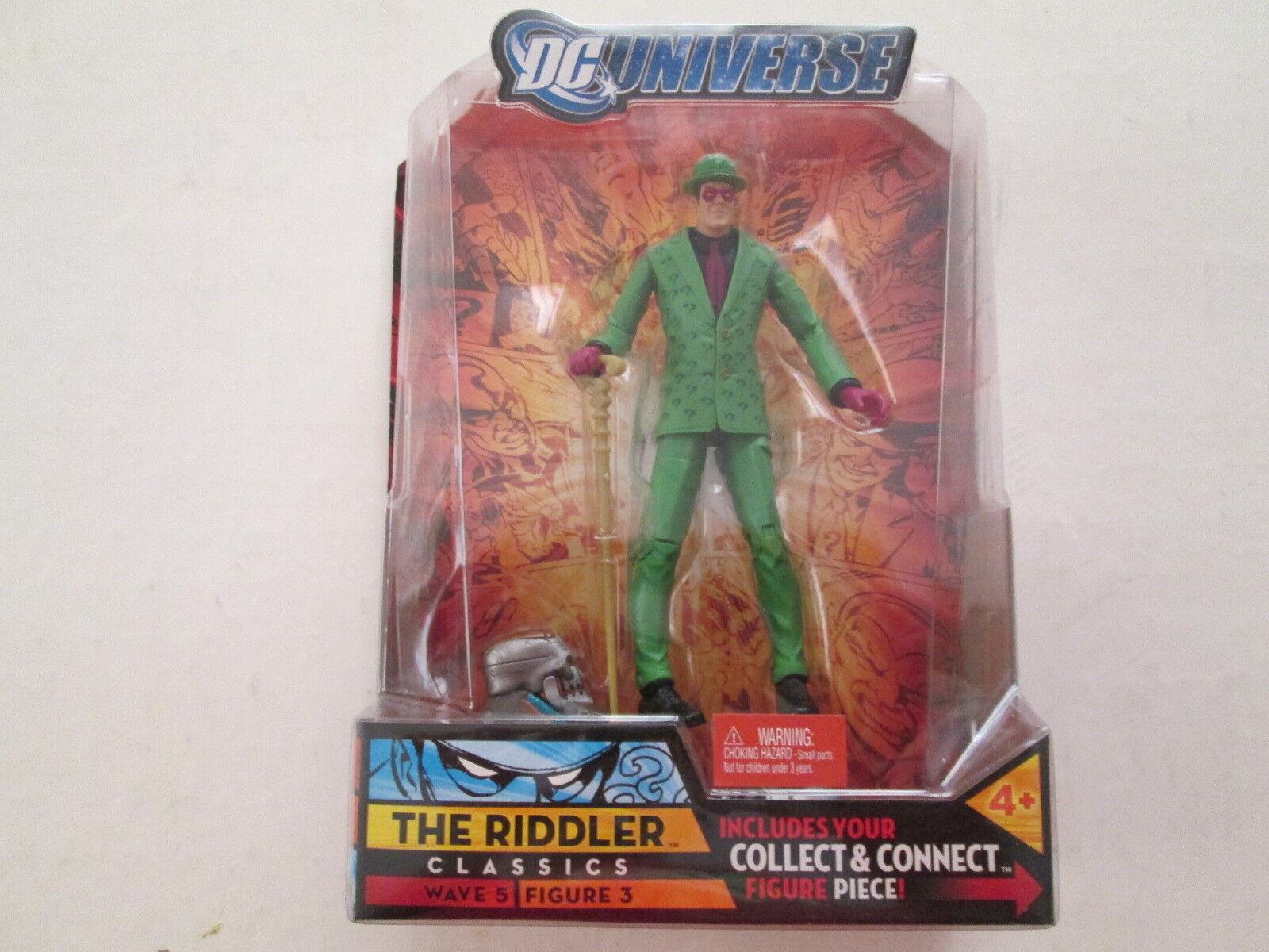 RIDDLER DC Universe Classics Wave 5 Figure 3 mattel batman legends joker kenner