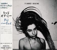 PJ HARVEY Rid Of Me FIRST JAPAN CD OBI PHCR-1714