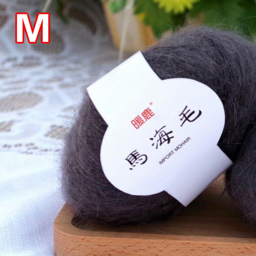 Colorful Cashmere Wool Yarn DIY Hand Woven Sweater Scarf Knitting Line Supply