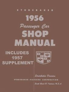 Awesome 1956 1957 Studebaker Shop Service Repair Manual Engine Drivetrain Wiring Cloud Funidienstapotheekhoekschewaardnl