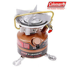 New Coleman Feather 442A Exponent Dual Fuel Stove White Gasoline 442-725K