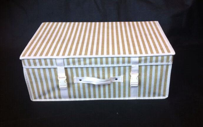 Small Luxury Wedding Dress Bridal Gown Storage Travel Box Travel Carry Case