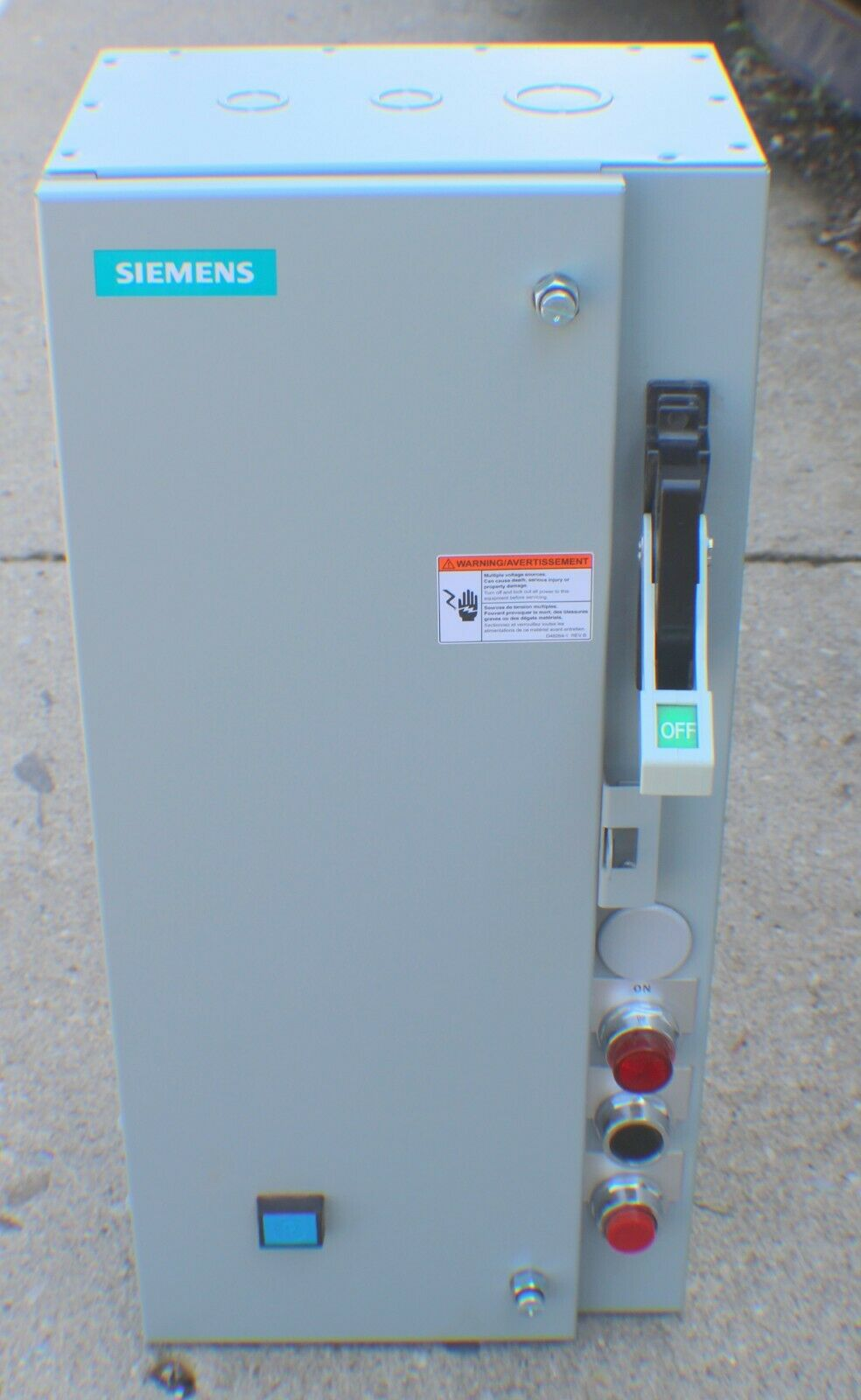 100 Disc Siemens 49EC17CB242008R FVNR Combination Starter Kit Amp Rating 2-12 Used With Disconnect Devices NEMA 1 General Purpose 3 Starter Size