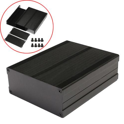 Aluminium Gehäuse Box Platinen Sicherheit Elektronik Netzteil Montage 97x120 mm